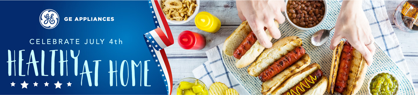 Celebrate July 4th Healthy at Home